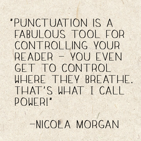 Nicola Morgan Quote