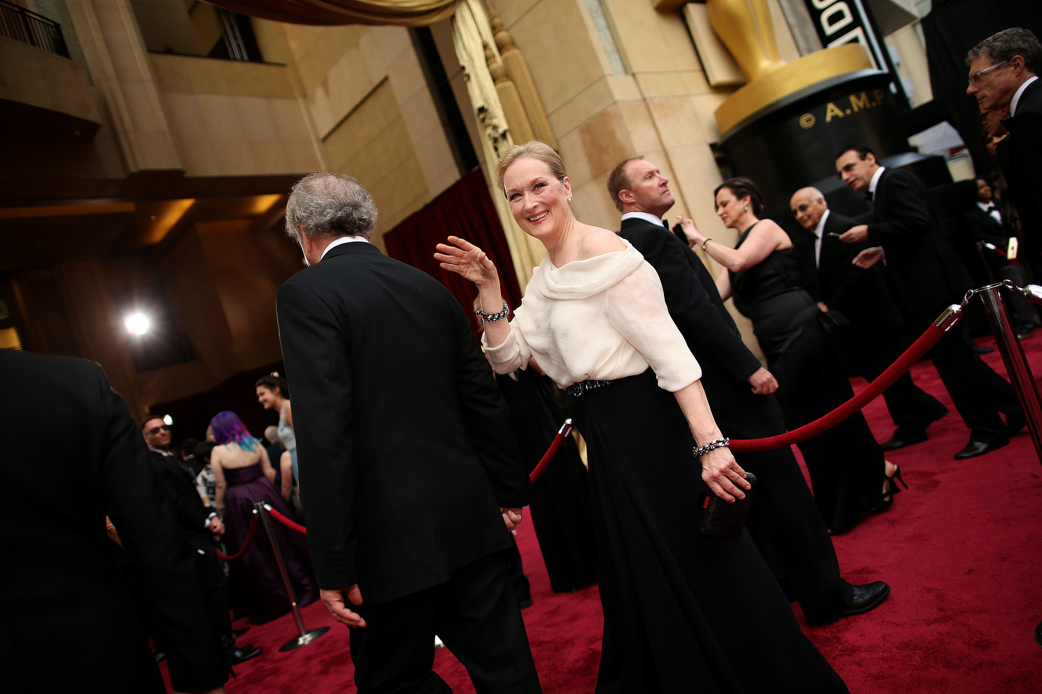 Ingrid and Meryl Streep