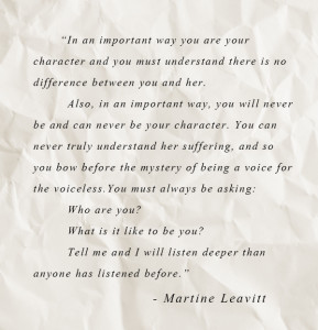 Martine Leavitt Quote