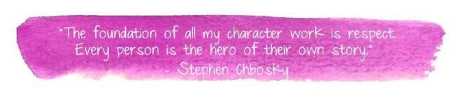 Character qutoe