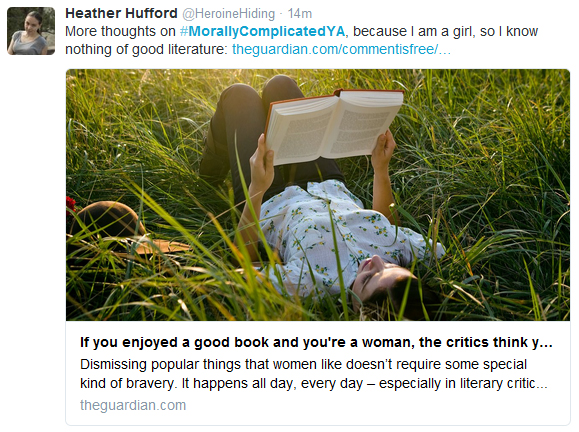 heather Huffort tweet