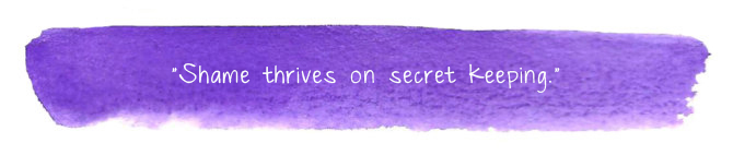Shame Secret Keeping