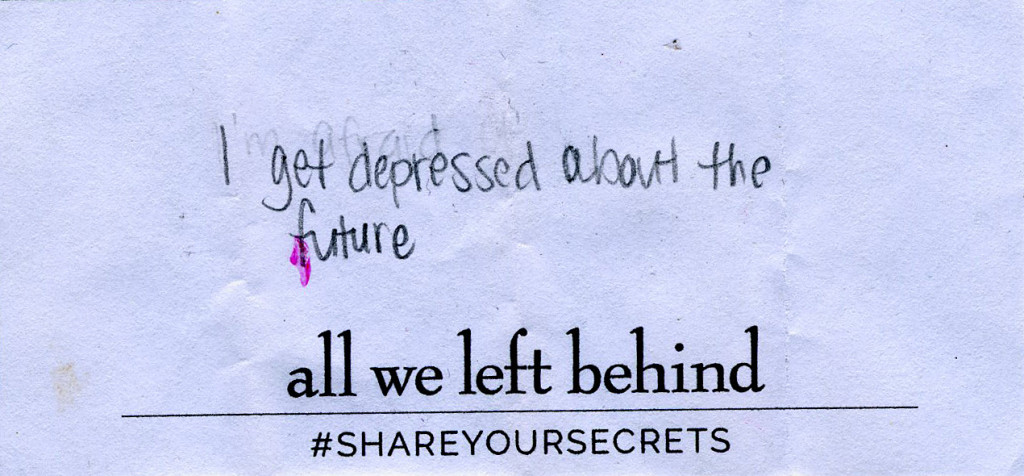 Share Your Secrets10_depressed about future