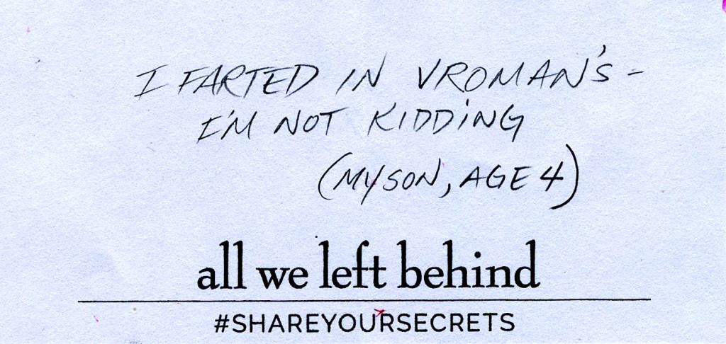 Share Your Secrets14_farted