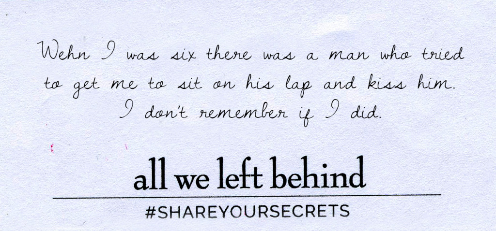 Share Your Secrets4_When I was Six_Revised
