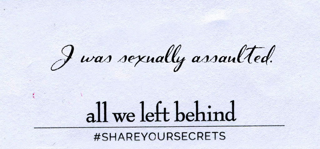 Share Your Secrets_Sexual assault